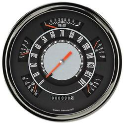 1961-1966 Ford F-100 Classic Instruments Gauge Original Ft61oe