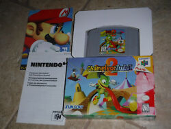 Chameleon Twist 2 Nintendo N64 with box and inserts TESTED & WORKS rare!