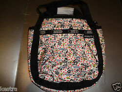 Lesportsac Peanuts Snoopy Small Jenni Happiness Dots Crossbody Small Bag New