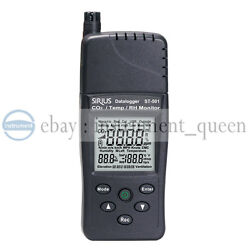 Tenmars St-501 Co2/temp./rh Monitor 3 Independent Co2, Humidity And Temperature