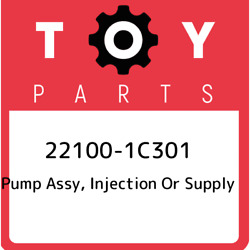22100-1c301 Toyota Pump Assy Injection Or Supply 221001c301 New Genuine Oem Pa