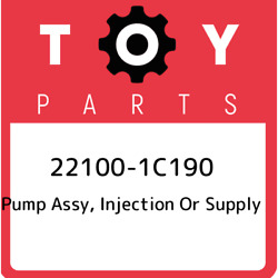 22100-1c190 Toyota Pump Assy Injection Or Supply 221001c190 New Genuine Oem Pa