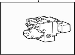 44050-48110 Toyota Actuator Assy, Abs And Traction 4405048110, New Genuine Oem Par