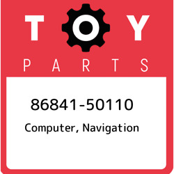 86841-50110 Toyota Computer Navigation 8684150110 New Genuine Oem Part