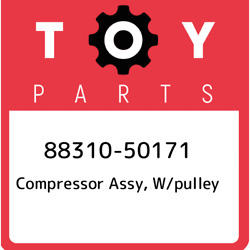 88310-50171 Toyota Compressor Assy W/pulley 8831050171 New Genuine Oem Part