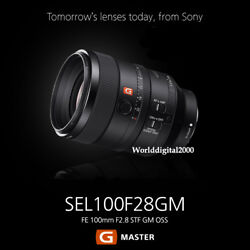 Sony G Fe 100mm F2.8 Stf Gm Oss Lens Sel100f28gm Incomparable Bokeh Sharpness