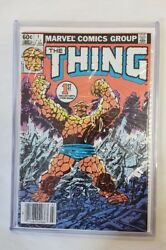 The Thing 1 Very Good Premiere Issue Joe Sinnott John Byrne Cover And Art 1983