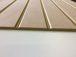 Butt And Bead Grooved / T And G / Tongue And Groove Effect Mdf Panels 9mm Thick