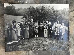 Vintage Original C 1910 Royal Family Photo King George V And Queen Mary Of Teck