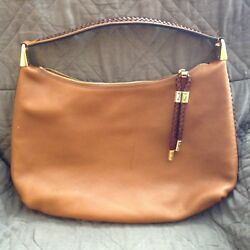 Michael Kors Collection Skorpios Large Leather Hobo