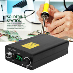Digital Soldering Iron Station Temperature Controller Kits wT12 Silicone Handle