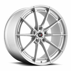 20 Savini Sv-f1 Forged Silver Concave Wheels Rims Fits Ford Mustang Gt