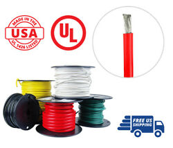 1 Awg Marine Wire Tinned Copper Battery Boat Cable 50 Ft. Red Made In Usa