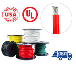 4/0 Awg Marine Wire Tinned Copper Battery Boat Cable 50 Ft. Red Made In Usa