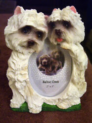 NWT West Highland Terrier Westie Photo Frame For 2