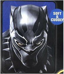 Black Panther Face Silky Soft Throw Blanket 40