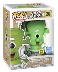 Funko Pop Icon Ad Cozmic Capand039n Crunch Toy Figurine Collectible Captain Crunch