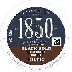 Folgers 1850 Black Gold Coffee Keurig 60 To 180 K Cups Pick Any Size Free Ship