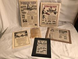 Structo Toys Builders Series Paper Advertising Lot Price List