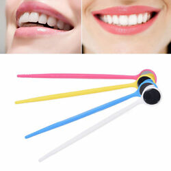 400 Pcs Dental Instruments Disposable Anti-fog Mouth Mirror Glass Reflector
