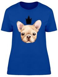 French Bulldog Puppy Crown Women's Tee -Image by Shutterstock