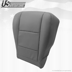 Fits 2000 To 2004 Toyota Sequoia Tundra Driver Bottom Seat Cover Gray Leather