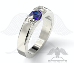 Michaelmjewelry Custommade Legend .925 Sterling Silver Band Ring