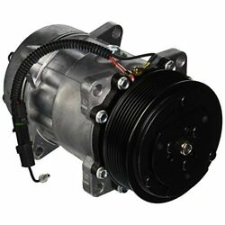 Four Seasons 68161 New AC Compressor with Specific Electrical Connector