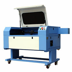 60w Co2 Laser Engraving And Cutting Machine Laser Engraver Usb Chiller 700x500mm