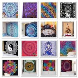 Large Tapestry Mandala Wall Tapestry Dorm Decor Urban Wall Hangings Bed Cover