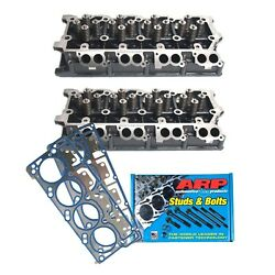 Enginetech 6.0l 20mm Complete Heads With Head Gaskets And Arp Head Bolts 05-10