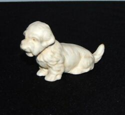 Antique Miniature Mini White Scottish Terrier Figure Marked Germany 640