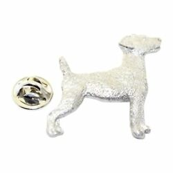 Jack Russell Terrier Pin ~ Antiqued Pewter ~ Lapel Pin
