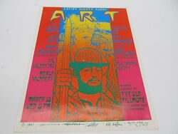 Artist Rights Today Poster 15x20 1987 Griffin Wilson Mouse Moscoso