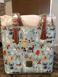 Disney Dogs Dooney & Bourke Emily Tote Shoulder Bag NWT! Excellent Placement!