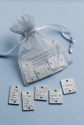 Bag of Charms Vilmain Charm Danforth Pewter Bag of Rules to Live By $11.95