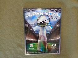 New Green Bay Packers Steelers Nfl Super Bowl Xlv 45 Program No Barcode Halo