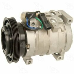 Four Seasons 78387 AC Compressor with Clutch and Specific Electrical Connector