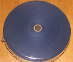 1 1/4 Inch Blue Cotton Rug Binding Tape For Rug Hooking 10 Yards