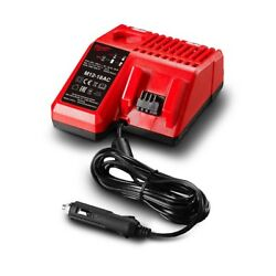 Milwaukee - 12 V & 18 V Li-ion Automotive Car Battery Charger M1218AC Tool Only