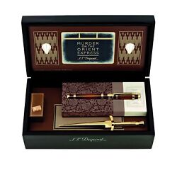 S.t. Dupont Murder On The Orient Express Rollerball Pen, St412186, New In Box
