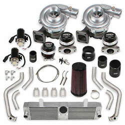 Corvette C6 05-07 LS2 Holley STS Twin Turbo System wo Tuner & Fuel Injectors