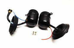 2003 BMW X5 (E53) LEFT & RIGHT SIDE REAR AIR SUSPENSION ACCUMULATOR TANK SET (2)