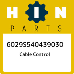 6029s540439030 Hino Cable Control 6029s540439030 New Genuine Oem Part