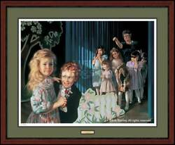 The Dance Recital Framed Limited Edition Print By Bob Byerley