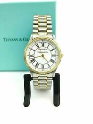 And Co. 18k Yellow Gold And Stainless Steel Portfolio Watch