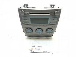 07 08 09 TOYOTA CAMRY OEM RADIO RECEIVER CLIMATE CONTROL