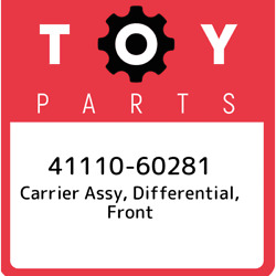 41110-60281 Toyota Carrier Assy Differential Front 4111060281 New Genuine Oem