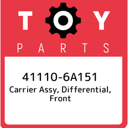 41110-6a151 Toyota Carrier Assy Differential Front 411106a151 New Genuine Oem