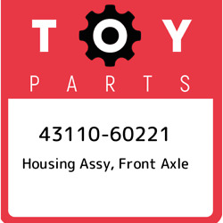 43110-60221 Toyota Housing Assy Front Axle 4311060221 New Genuine Oem Part